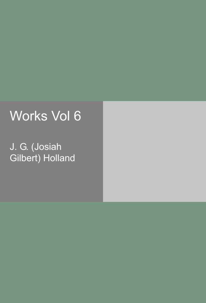 Read Online Works Vol 6 pdf