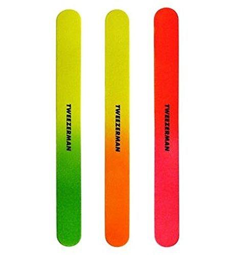Tweezerman Neon Files Pack Of 3