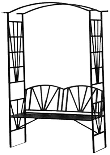 Specrail Mystic Steel Bench Arbor Kit, 81 by 44 by 19-Inch, Black