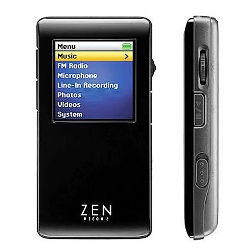 Creative Zen Neeon 2 4GB Silver MP3 Player FM Radio Voice Recorder