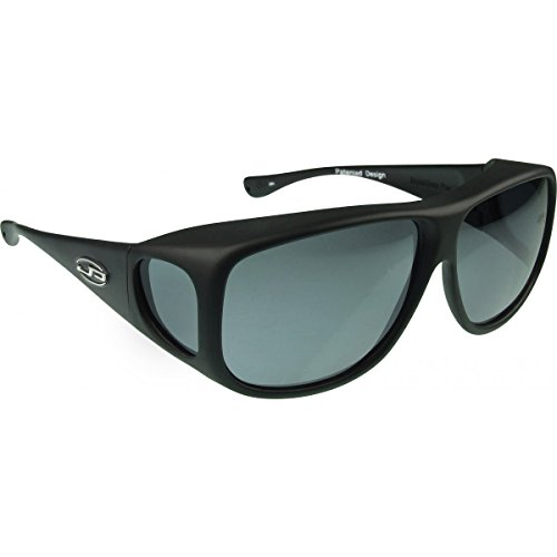 Jonathan Paul Fitovers Eyewear Aviator Sunglasses (Matte Black, PDX, Grey)