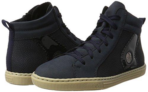 Sneakers Femme pazifik marine pazifik Rieker altsilber L0948 Hautes Bleu 5qxwYcBtHA