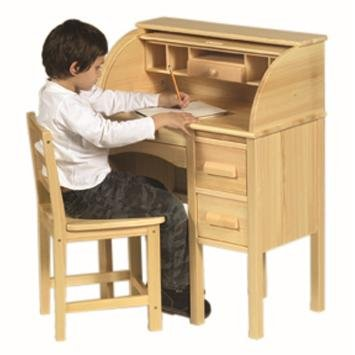 Guidecraft Jr. Roll-Top Desk Color: Light (Childrens Roll Top Desk)