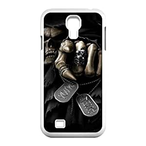 SOPHIA Phone Case Of Wings of death Cool skull Painting for Samsung Galaxy S4 I9500