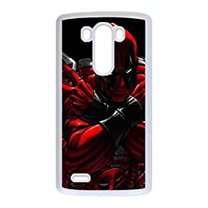 LG G3 Cell Phone Case White Superhero Captain America, Spider Man, Iron Man, Wolverine, ant man, Green Arrow, Batman, Joker Logo 106 JNR2002453