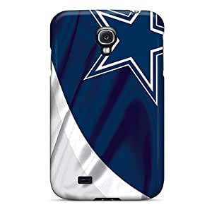 MansourMurray Samsung Galaxy S4 Anti-Scratch Hard Cell-phone Case Support Personal Customs High-definition Dallas Cowboys Series [qPx18106XhOO]