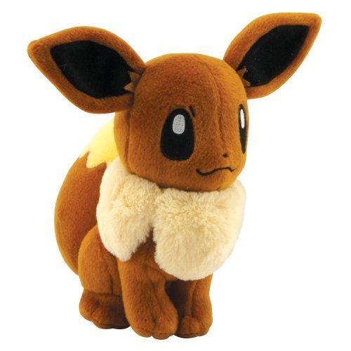 TOMY Pokemon Eevee Plush, 8-Inch ()