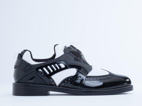 the latest 11af7 0865d Puma Yasuhiro Mihara MY-72 Patent Men s Shoes Black White 356458-01   Amazon.ca  Shoes   Handbags