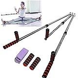 Yi Xuan 3 Bar Leg Stretcher Heavy Duty Gymnastic Portable Flexibility Stretching Machine Stretch Strength Training Leg Machines Yoga Exercise Gym
