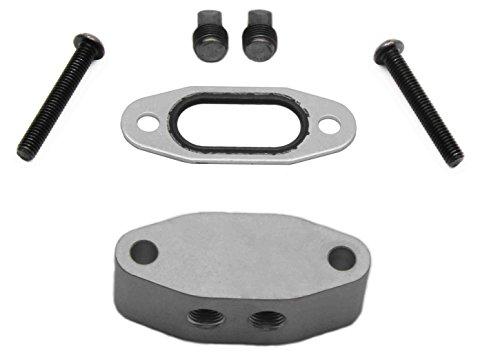 Port Pressure No (LSX Innovations OAL23 LS Oil Pressure Sensor Adapter Port And Dual 1/8 NPT Out)