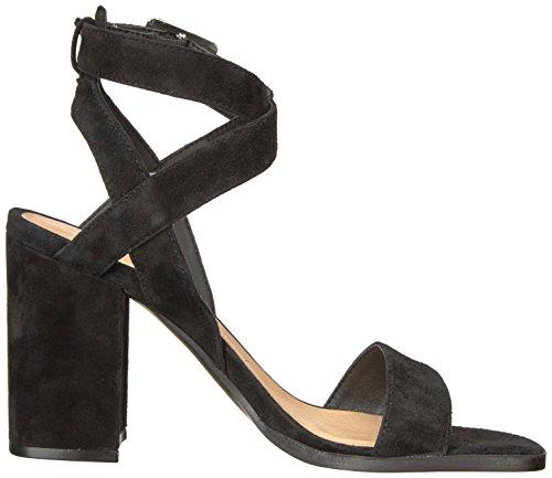 Vestido Sitara Chino Para Mujer Sandalia Negro