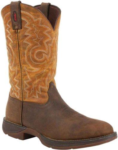 Rebel by Durango Pull-On Western Boots Tan / Goldenrod Brown / Tan 4mqqRp