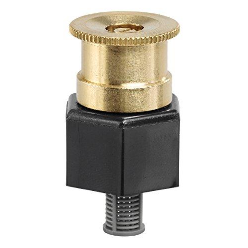 Orbit 54051 Full Pattern Brass Shrub Head Sprinkler, 15-Foot Adjustable Shrub Head