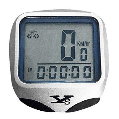 Digital LCD Wireless Waterproof Bike Computer Bicycle Speedometer with Night Vision
