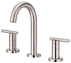 Danze D328558bnv Parma Trim Line Two Handle Widespread Lavatory Faucet With Hot And Cold
