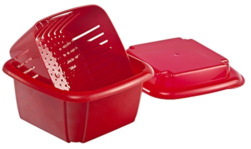 Hutzler 3-in-1 Berry Box, Red (Berry 1)