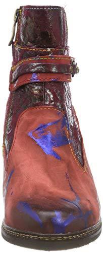 Mujer Rojo Botines para Agathe 50 Laura Vita Rouge Rouge x6wB7