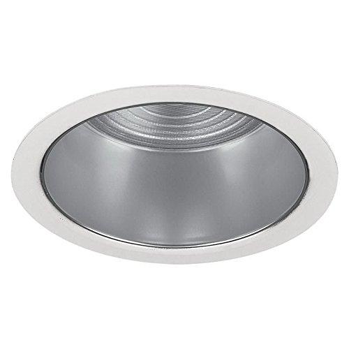 Lightolier 2090 3-3/4 Inch Flush Glass Trim Round Lytecaster by Lightolier
