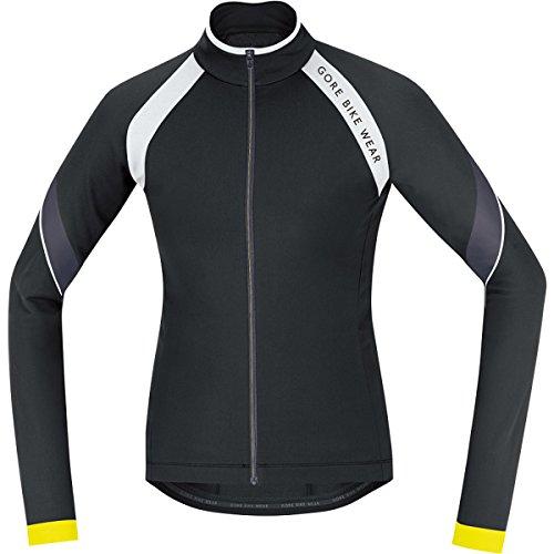 (Gore Bike Wear Women's Power 2.0 Thermo Jersey, Black/White, Large)