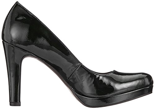 Patent Black Closed 018 Tamaris Women's 22426 Patent Toe Black Black Heels 018 Black q8PH8vRw