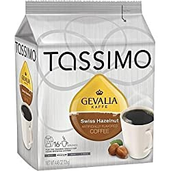 Gevalia Swiss Hazelnut T-Discs, 4.5 oz, 16 ct
