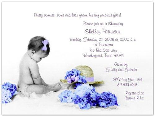 Cory Baby Shower Invitations - Set of 20 -