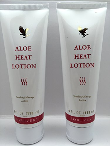 Forever Living Aloe Heat Lotion 4oz. (Two Pack)