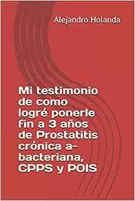 prostatitis bacteriana y no bacteriana