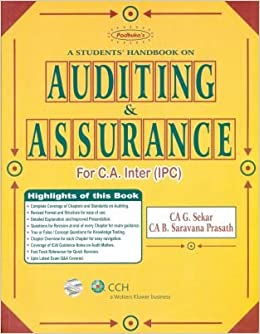 Amazon in: Buy Paduka's-Students Handbook on Auditing and