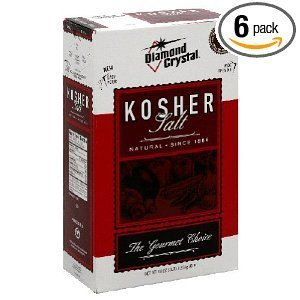 Diamond Crystal Kosher Salt, 3-Pounds (Pack of 6) by Diamond (Image #1)