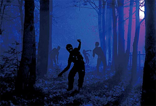 Lessonmart Night Forest Ghost Scene Halloween Party Photographic
