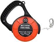 Scuba Choice Scuba Diving Multi Purpose Dive Reel, 150', Or