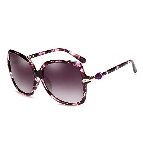 cadre strass D avec Couleur ZHIRONG UV grand lunettes à Elegant protection C Retro Lady Sunglasses solaire protection nOPUwqS