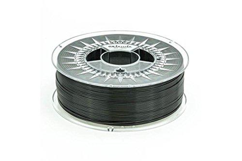 "5 opinioni per extrudr® PETG ø1.75mm (1.10kg) 3d printer filament, (RGB 000:000:000) ""BLACK""-"
