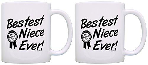 Birthday Niece Bestest Award Coffee
