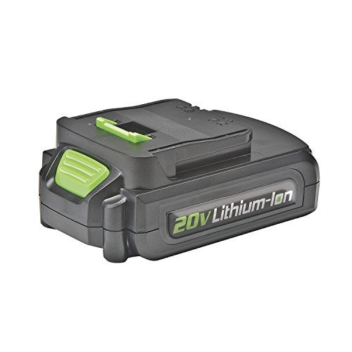 Genesis GLAB20A 20V Lithium-ion Battery Pack, Black/Green (Genesis Driver)