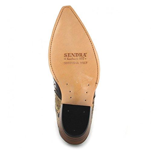 Sendra Boots 9396P - Botas de Piel para hombre Varios Colores multicolor Varios Colores - 075 Tierra Pyton Panizo