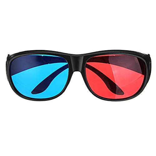 1Pcs Blue Red 3D Dimensional 3D Glasses For