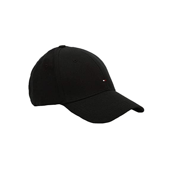 4f77acf9 Tommy Hilfiger Cap Classic BB Mens (Flag Black): Amazon.co.uk: Clothing