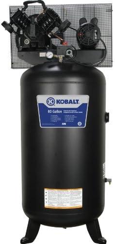 Kobalt 80 Gallon air compressor