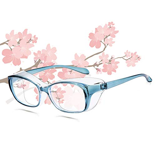 Unisex Anti Fog Safety Goggles Blue Light Blocking Glasses Eye Protection With Side Shields Safety Eyeglasses