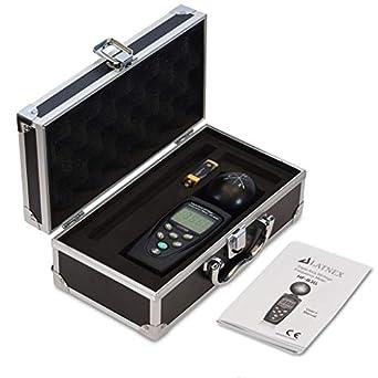 hf-b3g Triple Axis HF RF Medidor analizador detector de Y + funda de aluminio
