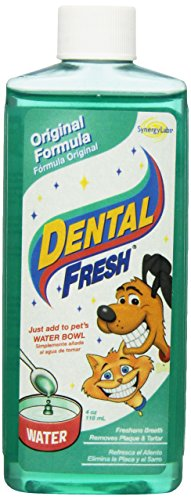 Synergy Labs DSL00012 Original Formula Hygiene Dog/Cat Dental Fresh, 4-Ounce