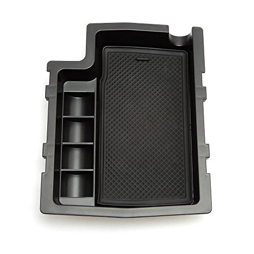 Issyzone Armrest Center Console Tray Organizer Secondary Storage Box for Subaru XV Impreza - Appliance Center Parts