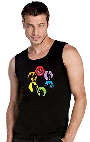 Dream Theater schwarze Top Tank T-Shirt -2160