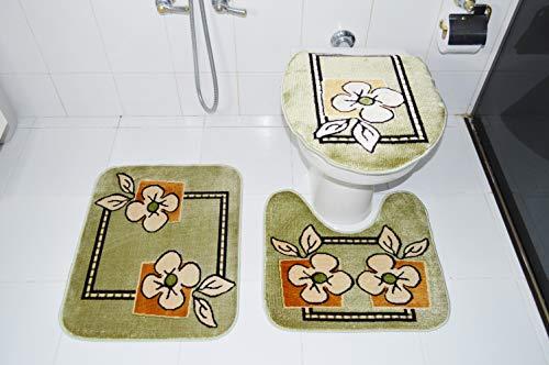 Royal Luxury Jogo de Banheiro Rayza 103-2 Verde