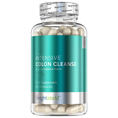 Intensive Colon Cleanse Tablets – Bacterial Detox Care Keto Pills to Support Colon, Fast Bloating Relief & Weight Loss…