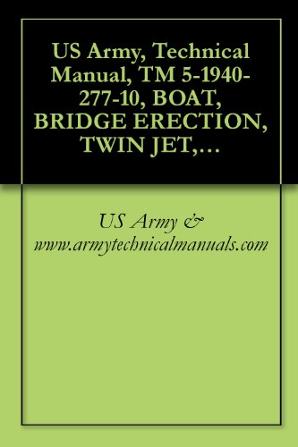 Used, US Army, Technical Manual, TM 5-1940-277-10, BOAT, for sale  Delivered anywhere in USA