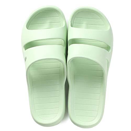 Bas Doux AMINSHAP Salle Pantoufles Femmes de Green Pantoufles Taille Bains Et 39EU Bleu 38 Couleur Chaussons Sandales Couples Antidérapantes Pantoufles Maison SfW1nXXxq