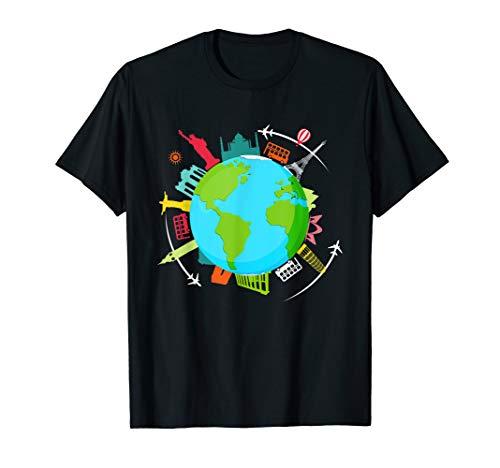 World Traveler shirt Gifts for International world travelers